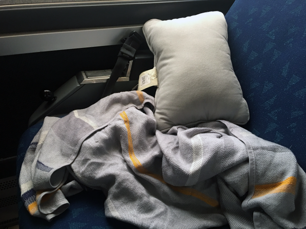 my pillow and blanket