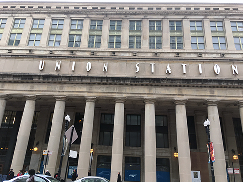 union station chi exterior